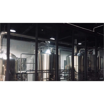 10HL 4 Vessel Automatic Beer Making Sudhaussystem