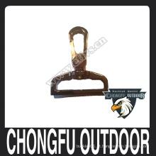 Aço inoxidável snap gancho para animal de estimação leash e coleira