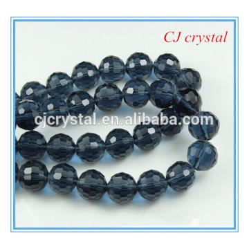 96 Facetten runde Perlen, Perlenstrang, 8mm Lack Perle