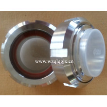 Stainless Steel SMS Union Sight Glass for Food Processing