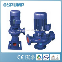 GW inline self priming sewage wastewater pump for remote settlement