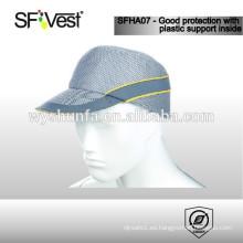 Sombrero de hombre con cinta reflectante, 100% poliéster