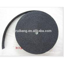 fabricação de material de filtro resistente ao fogo tecido de fibra de carbono