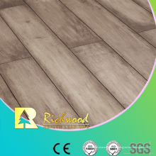 Assoalho laminado impermeável do carvalho da textura do Woodgrain de Household12.3mm E0 AC4