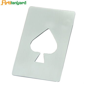 Lovely Logo Made On Zinc Alloy Opener