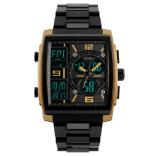 China supplier special fashion trendsetter 3 time countdown men watch