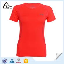 ODM Frauen-T-Shirt Sport-Team-kundenspezifische athletische Abnutzung