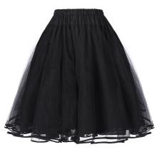 Belle Poque Women's Luxury Retro Dress Vintage Dress 3 Layers Tulle Netting Crinoline Petticoat Underskirt BP000229-1