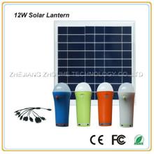 solar lamp indoor led ring light ,10w led solar indoor lantern light
