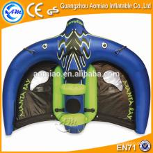 Esportes de água rebocáveis infláveis, raio de manta inflável do vôo venda