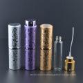 Hot Sales 15ml Garrafa De Perfume De Vidro De Alumínio