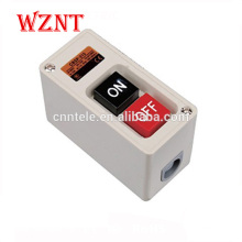 15A 2.2kw no nc bouton poussoir interrupteur bouton poussoir