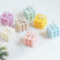 DIY Rubik Cube candle mould home decor aromatherapy 3d silicone candle mold hand making