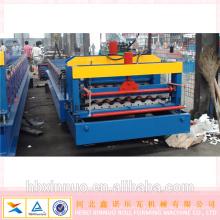 900/950 feuilles de toit en aluminium aluzinc couleur formant la machine hebei xinnuo machines de matériaux de construction