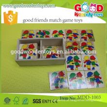 Adolescente mutante ninja tartarugas jogo de partida de memória OEM jornada de aprendizado bons amigos combinam brinquedos do jogo MDD-1003