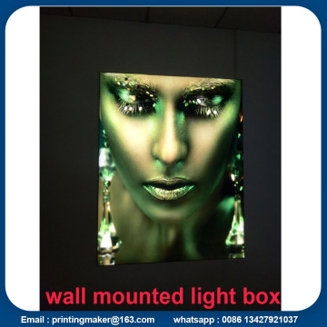 Luces de pared con marco de pared LED