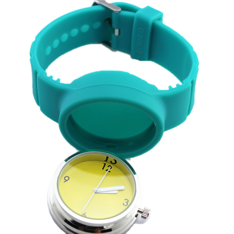 NEW ROUND JELLY WATCH