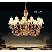French Style Decorative Brass Chandelier Lighting (WD1128-12)