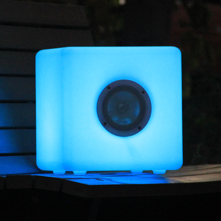 LED Cube Bluetooth speaker