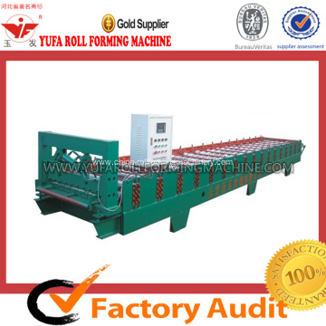 Tile Making Machine with Hydraulic Cutter