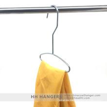 Metal cromado brillante alambre bufanda Lazo colgante pantalla