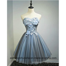 Flowers Ball Gown Sleeveless Sweet Floral Print Party Gowns