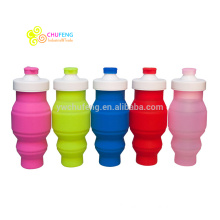 500ML Outdoor Sport Bottle Foldable Silicone Folding Water Bottle