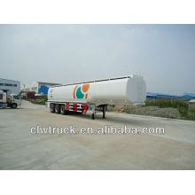 Reboque de óleo de 3 eixos, semi reboque de tanque de óleo (45000L)