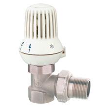 J3003 Vanne de radiateur anneau en laiton avec vanne de nickel / vanne de régulation