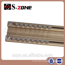 Home Decor Internal Article Silencer Ceiling Aluminum Double Curtain Track