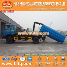 DONGFENG push-pull arm refuse truck 4X2 10 cbm 190hp best price professional production hot sale