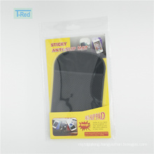 Useful sticky pad mat for cell phone as car accessory