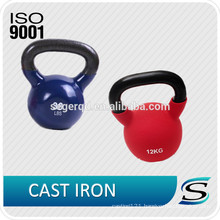 customized colored competition kettlebell