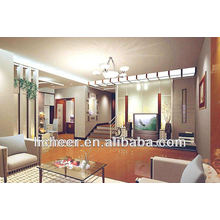 HOT!! Mirror surface laminate flooring/color laminated board