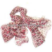 lenço de leopardo barato de moda