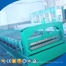 HT color steel corrugated roof sheet making machine