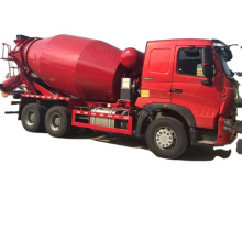 high quality howo 9m3 concrete mixer truck