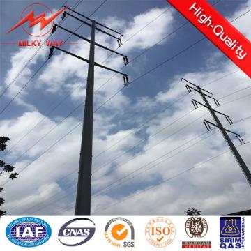 Galvanización eléctrica poste de acero