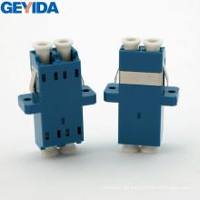 LC / Upc Duplex Optischer Faser Kabel Adapter