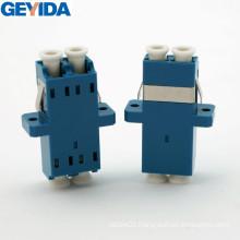 LC/Upc Duplex Optical Fiber Cable Adapter