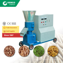 Home use pellet plant making corn straw portable grinding machine