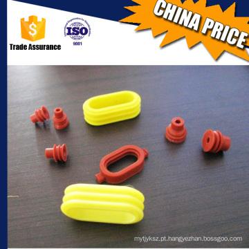 Peças de plástico de fabricação de borracha de silicone OEM de alta qualidade