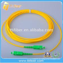 9/125 Singlemode Simplex SC / APC fibra óptica patch cord