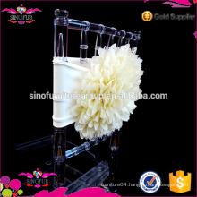 Qingdao SinoFur Best Sale Spandex Flower Chair Cover