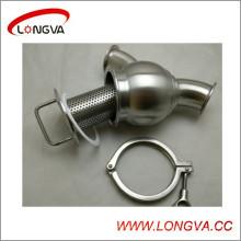 Нержавеющая сталь Гигиеничный зажимный фильтр типа Y