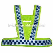 stripe warning safety micro prism reflective tape for clothing