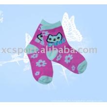 Calcetines de niños felices