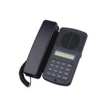 Téléphone voip bureau avec coquille d'abs noir