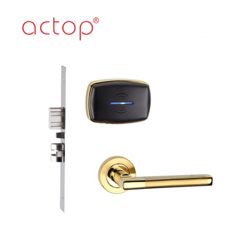 Produk Shenzhen Wired Smart hotel door lock