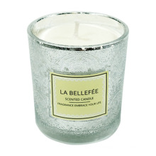 Aromatherapy Candle Glass Soy Wax Essential Oil Plant Bedroom Relief Star